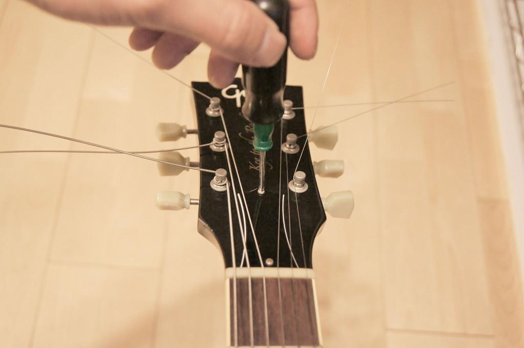 ギター反り