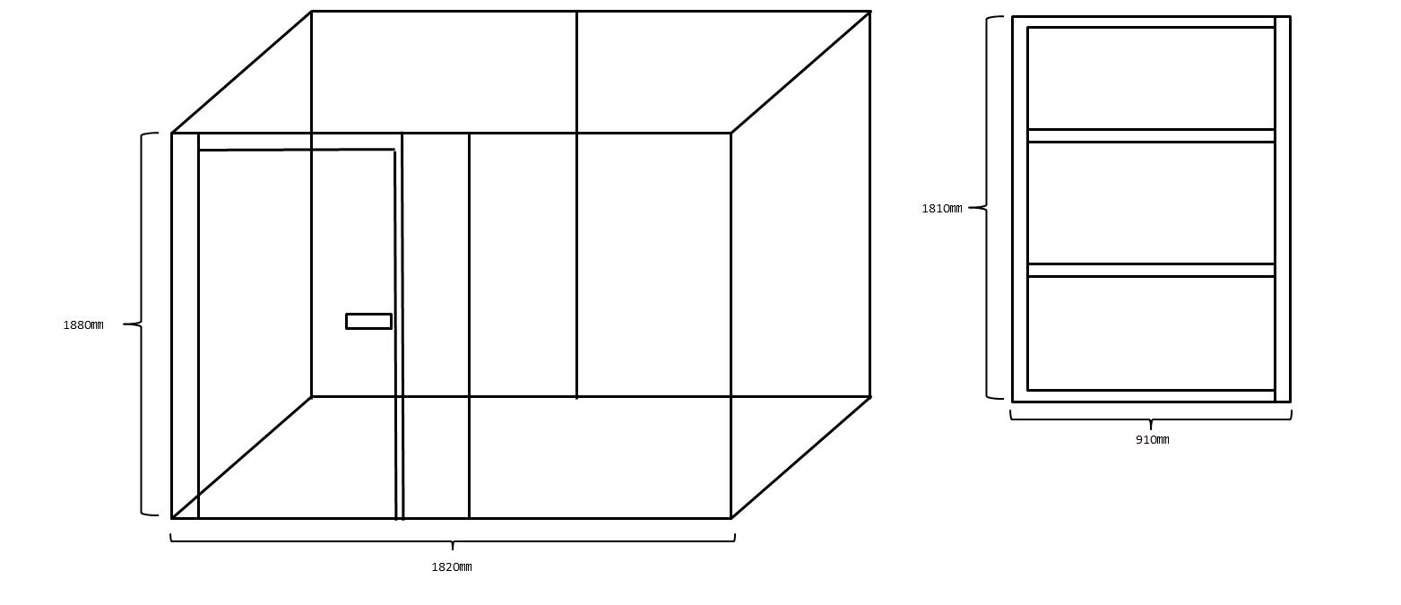 防音室設計図