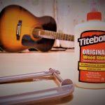 ブリッジが浮いた又は剥がれたアコースティックギターの修理方法【DIY】